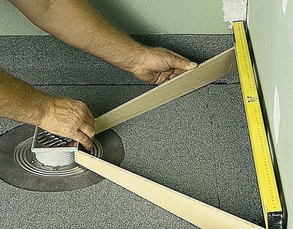 Трап для душа в полу под плитку пошаговая инструкция по сооружению