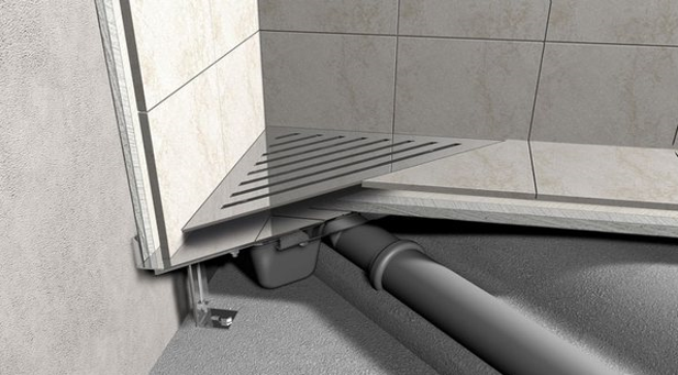 Трап для душа в полу под плитку: слив, как сделать самому