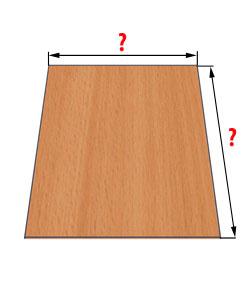 Ламинированная ДСП – размеры от ведущих производителей. ДСП: размеры листа, цена и толщина. Что нужно учесть при выборе материала
