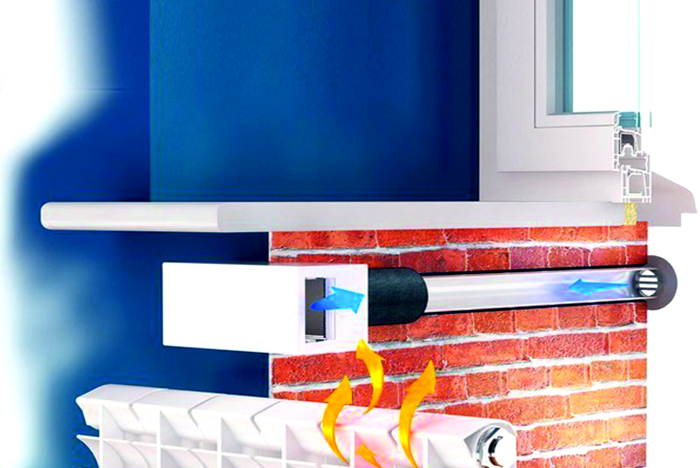 Приточный клапан или как сделать приток свежего воздуха