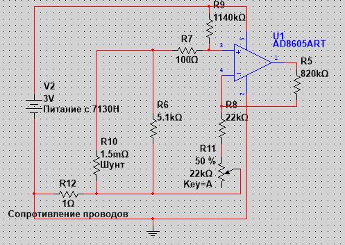 Συνδέστε το μετρητή amp